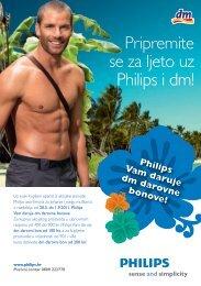 Pripremite se za ljeto uz Philips i dm!