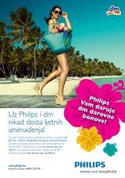 Philips Vam daruje dm darovne bonove!