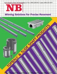 TOPBALL & SLIDE SHAFT PRODUCTS