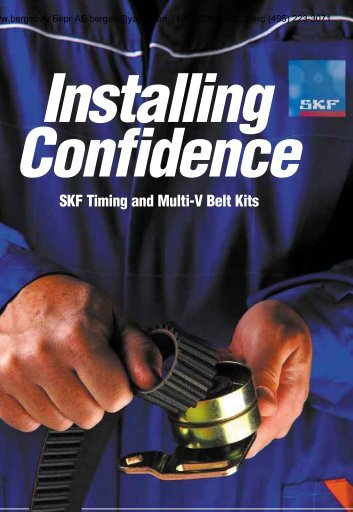 SKF Timing and Multi-V Belt Kits