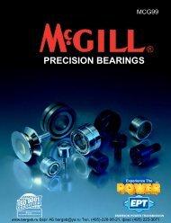 McGill Precision Bearings Full Line