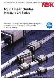 NSK Linear Guides Miniature LH Series