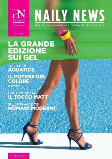 magazine primavera-estate 2013 - Pronails