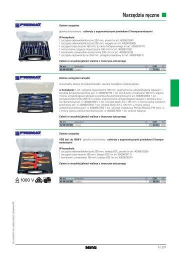 Narzędzia ręczne cz.2 (PL.2012) - PRONAR