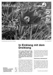 lokal 1 09.indd - Pro Natura Aargau