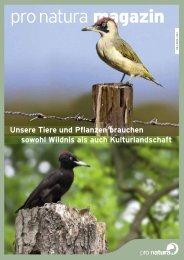 Unsere Tiere und Pflanzen brauchen sowohl Wildnis ... - Pro Natura