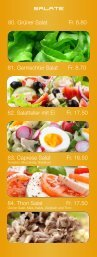 Salate - Pronto Bar