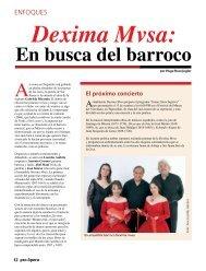 En busca del barroco - Pro Ópera