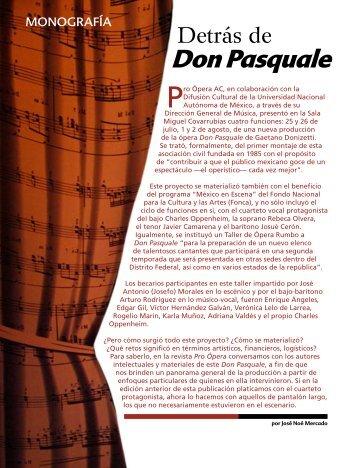 El Don Pasquale de Pro Ópera A.C.