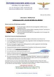 Luftfahrtgesetz Informatioan - Prop