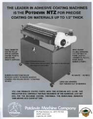 the brochure on the Potdevin NTZ gluers in pdf format. - Pro Pack ...