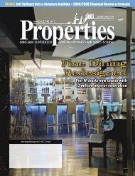 Fine Dining Redesigned - Properties Magazine, Inc.
