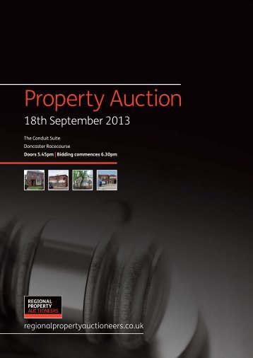 April 2013 - Regional Property Auctioneers