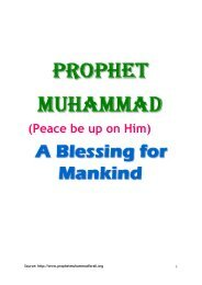(Peace be up on Him) - Prophet Muhammad (SAW) for All