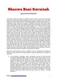 Sayyid Abul Ala Maududi - Prophet Muhammad (SAW) for All