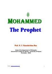 mohammed_the_prophet.. - Prophet Muhammad (SAW) for All