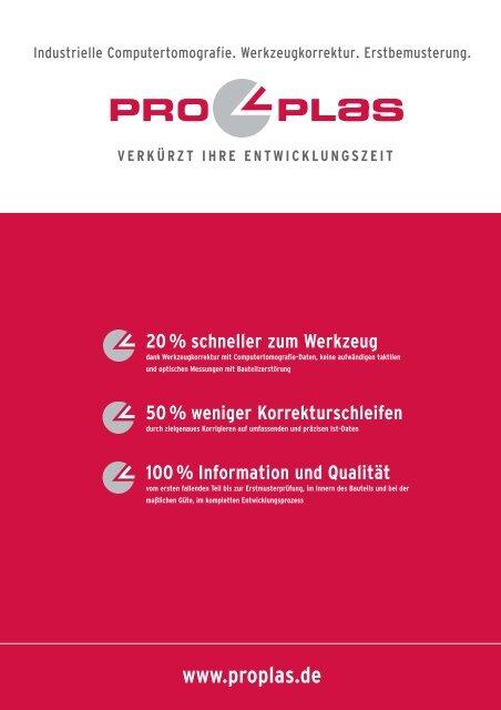 Kompetenz-Broschüre herunterladen - ProPlas GmbH