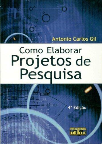Como elaborar projetos de pesquisa - Proppi