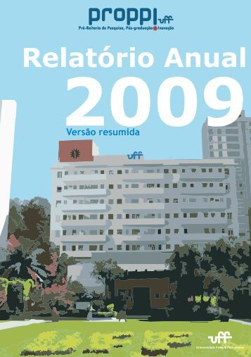 Relatório PROPPi 2009 - Proppi - UFF
