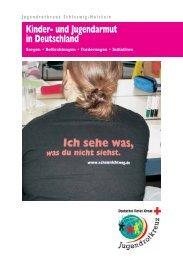 Kinder- und Jugendarmut in Deutschland - Deutsches Rotes Kreuz