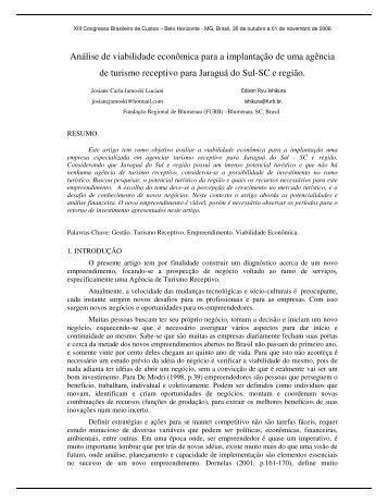 Análise de viabilidade econômica para a implantação de ... - Proppi