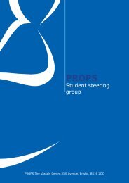 Student steering group - Props