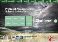 ProQuest - ProQuest Atmospheric Science Collection   Brochure (PDF)