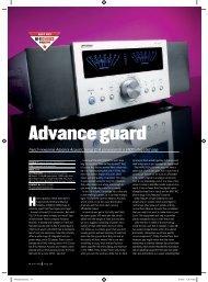 Advance guard - AQ1 audio