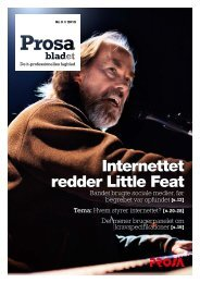 Internettet redder Little Feat - Prosa