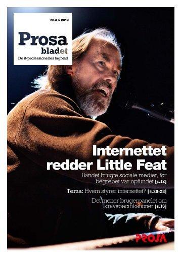 Internettet redder Little Feat - Prosa