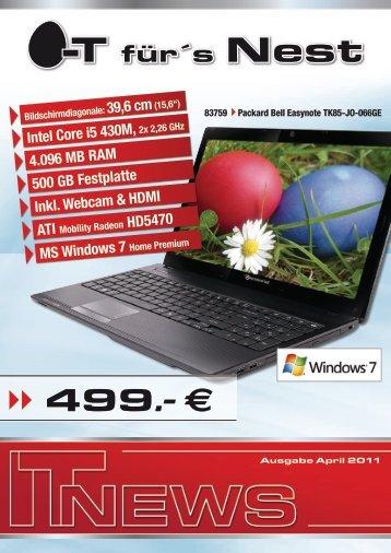 "Bildschirmdiagonale: 39,6 cm(15,6"") Intel Core i5 430M ... - Comprofis"