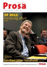 DF 2012: - Prosa
