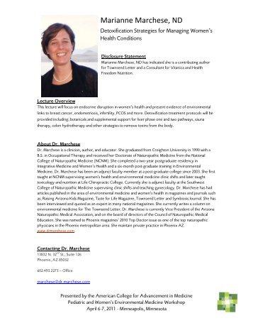 Marianne Marchese, ND - Acamnet.com acamnet