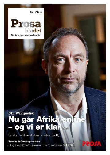 Nu går Afrika online – og vi er klar[s.8] - Prosa