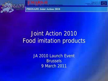 Food Imitation Products - Prosafe