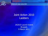Ladders - Prosafe