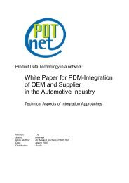 White Paper for PDM Implementation of OEM and