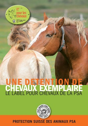 Infoflyer [ pdf-File ] - Protection Suisse des Animaux PSA