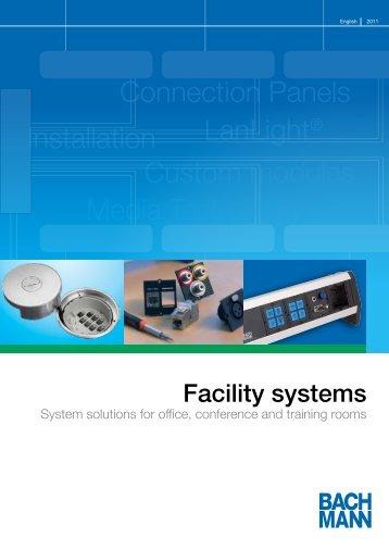 Installation LanLight® Custom modules Connection Panels Media ...