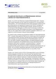 Europäische Kommission und Mitgliedsstaaten ... - ProteinMarkt