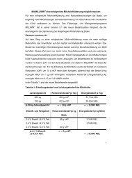 Artikel für Infoportal Milliwin.DOC - ProteinMarkt