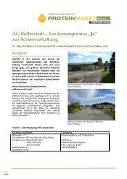 Reportage AG Ballerstedt - ProteinMarkt