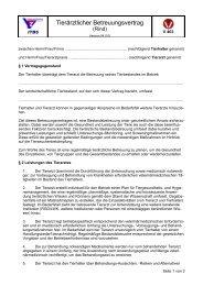 Tierärztlicher Betreuungsvertrag (Rind) - ProteinMarkt