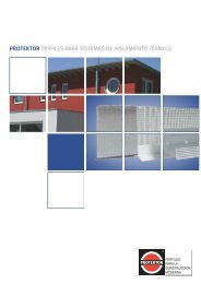 protektor perfiles para sistemas de aislamiento térmico