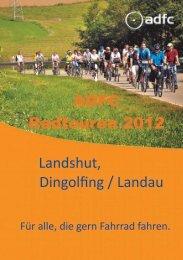 Radlsaison 2012 - ADFC Landshut