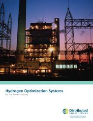 Hydrogen Optimization Systems - Proton OnSite