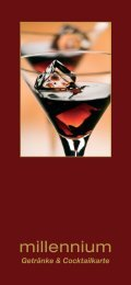 Getränke & Cocktailkarte