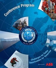 2011 Program Book - Arctic Technology  Conference