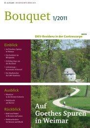 Bouquet - Dkv-Residenz in der Contrescarpe