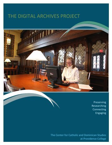 Download The Digital Archives Project PDF - Providence College